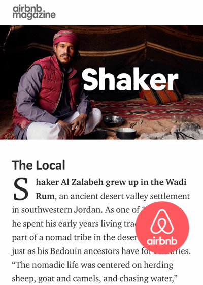 airbnb shaker feature