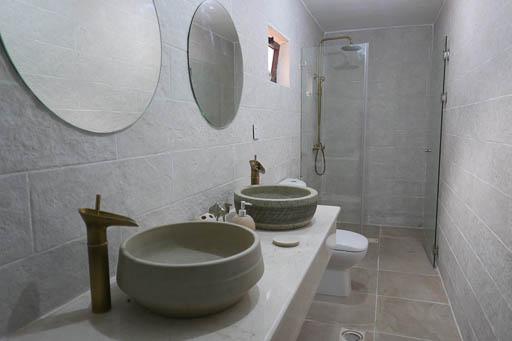 private bathroom wadi rum bedouin tent