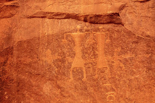 Inscriptions Wadi Rum desert jordan