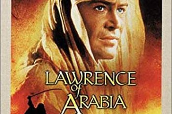 cropped cover of Lawrence of Arabia 1962 film
