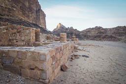 nabatean temple wadi rum jordan