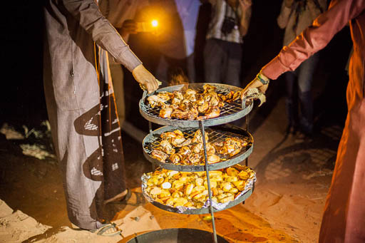 Wadi Rum Zarb revealed - Bedouin barbeque - food jordan