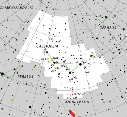 Cassiopeia constellation