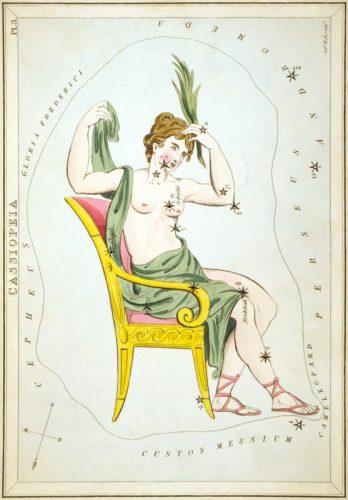 Cassiopeia mythology