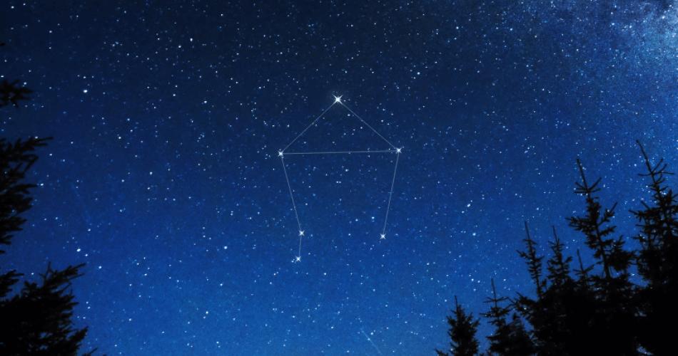 Libra constellation star
