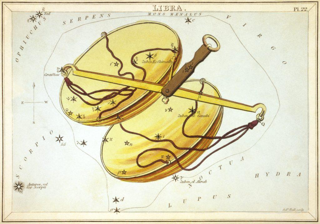 Libra constellation mythology
