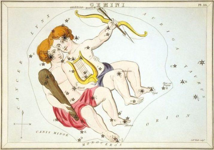 Gemini star constellation