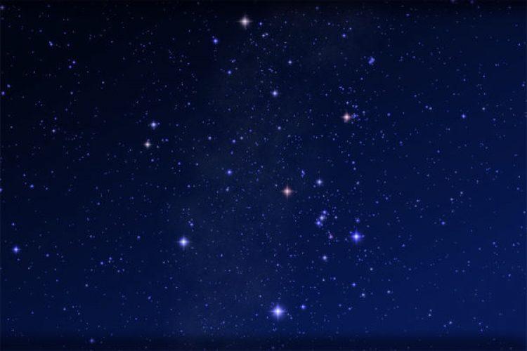 winter hexagon stars