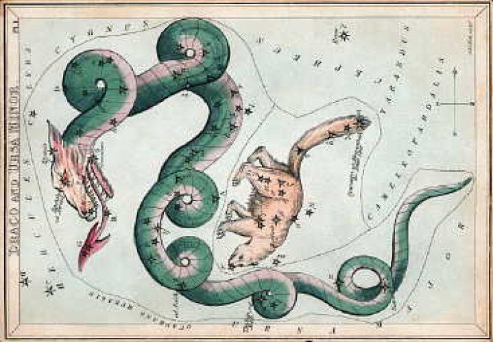 Draco constellation mythology