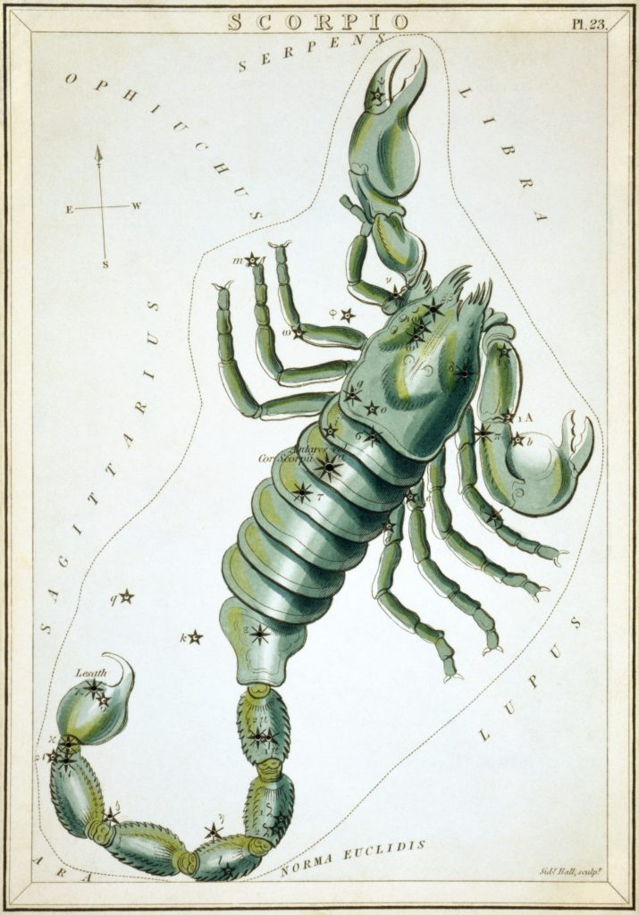 Scorpion constellation mythology