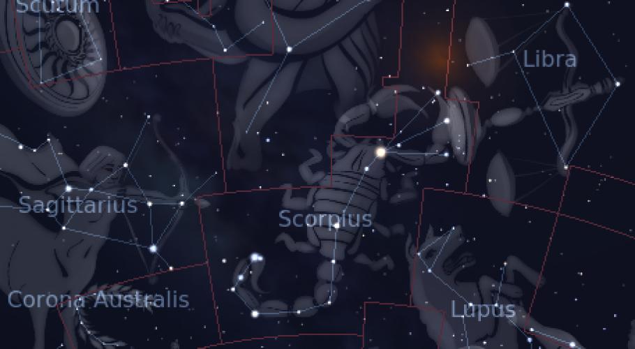 Scorpion constellation